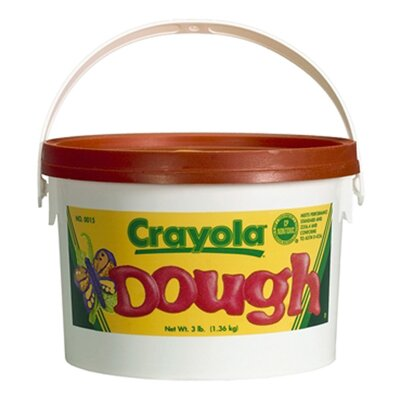 Crayola LLC Modeling Dough 3lb Bucket Orange