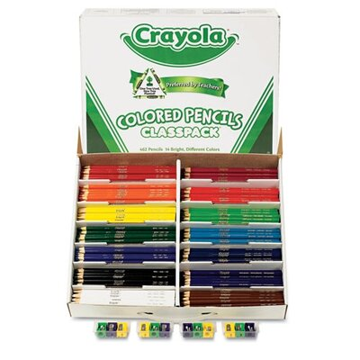 Crayola LLC 3.3 Mm Woodcase Pencil Classpack (14/Box)
