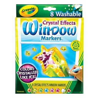 Crayola LLC Crystal Effects Window Markers