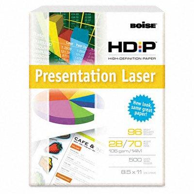Boise® Hd:P Presentation Laser Paper, 96 Brightness, 28 Lb, 8-1/2X11, 500/Ream