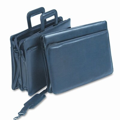 Bond Street, LTD. STEBCO Tri-Pocket Tufide® Portfolio Briefcase