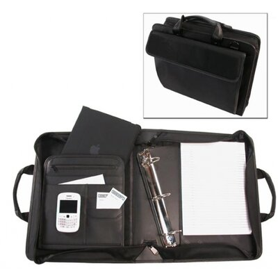 "Bond Street, LTD. Ballistic Business Organizer with Removable 3"" Binder Portfolio"