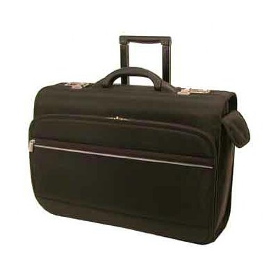 Bond Street, LTD. Grey Line Ballistic Laptop Briefcase