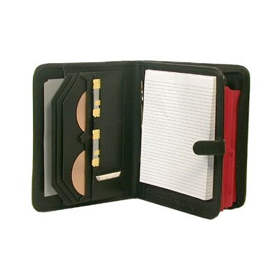 Bond Street, LTD. Deluxe Leather-Look Writing Pad and File Holder