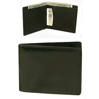 Bond Street, LTD. Mini Tuxedo Wallet in Black