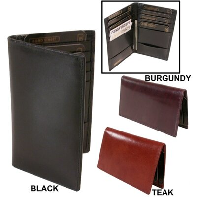 Bond Street, LTD. Cordoba Leather Card Caddy Wallet