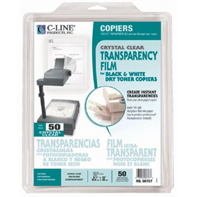 C-Line Products, Inc. Transparencies Copier Clear 50 Ct