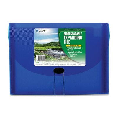 C-Line Products, Inc. 7-Pocket Biodegradable Expanding File