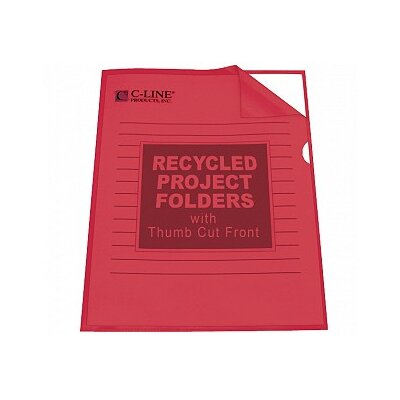 C-Line Products, Inc. Recycled Project Folder (25/Box)