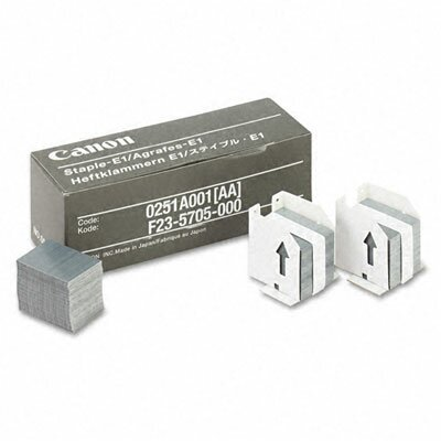 Canon Staples for Canon IR550/600/6045/Others, 3 Cartridges, 15,000 Staples per Pack