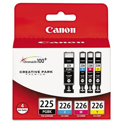 Canon Pgi-225 Ink Tank (4/Pack)