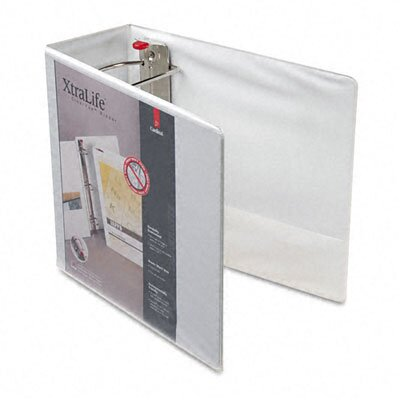 Cardinal Brands, Inc Clearvue Xtralife Slant-D Presentation Binder, 5in Capacity