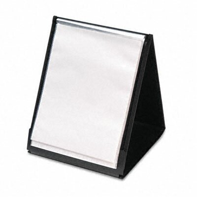 Cardinal Brands, Inc Showfile Vertical Display Easel, 20 Letter-Size Sleeves