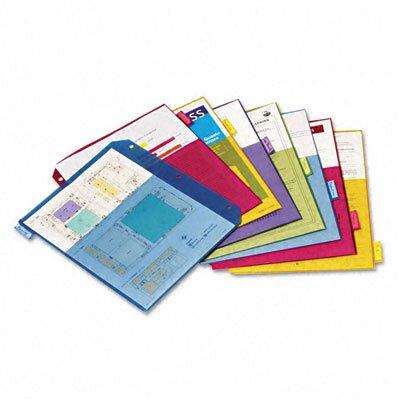 Cardinal Brands, Inc Poly 2-Pocket Index Dividers, 8-Tabs/Set, 4 Sets/Pack