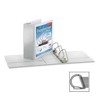 "Cardinal Brands, Inc 4"" Clearvue Locking D-Ring Binder"