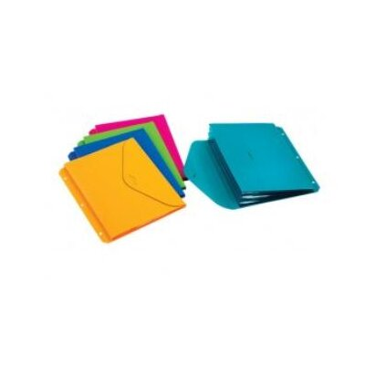 Cardinal Brands, Inc Expanding Binder File, 3-Hole Punched, Letter Size