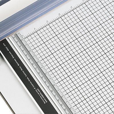 "Carl Manufacturing 13.75"" x 48"" Industrial Paper Trimmer, 10 Sheets"