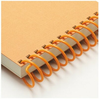 "Carl Manufacturing Carla Craft 12"" 9mm Binding System Spiral Ring in Marigold"