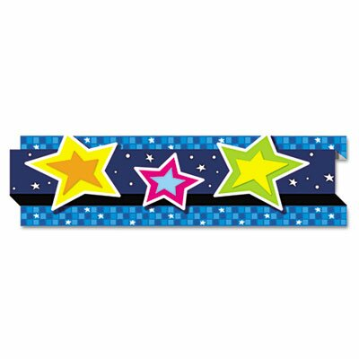 Carson-Dellosa Publishing Stars Pop-It Border, 8 Strips/Pack