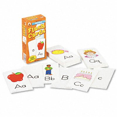 Carson-Dellosa Publishing Alphabet Flash Cards, 80/Pack