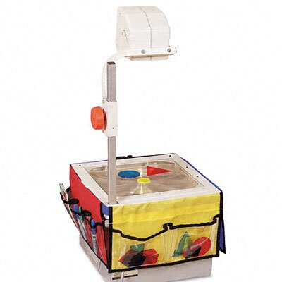 Carson-Dellosa Publishing Overhead Projector Storage, Panels with 6 Pockets and Belt