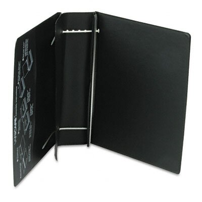 Charles Leonard Co. Varicap6 Expandable 1 To 6 Post Binder, 8-1/2 x 11, Black
