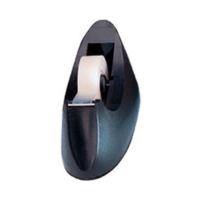 Charles Leonard Co. Desk Tape Dispenser Black