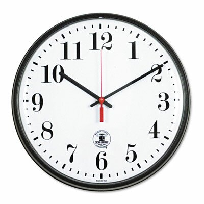 Chicago Lighthouse For The Blind Atomic Slimline Contemporary Clock