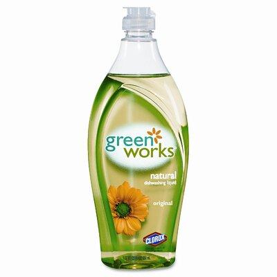 Clorox Company Natural Dishwashing Liquid Original, 22 Oz. Bottle