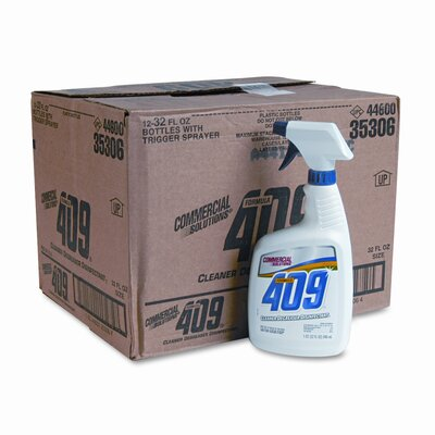 Clorox Company 409 Cleaner/Degreaser/Disinfectant,32 oz.,12/CT,Spray Bottle