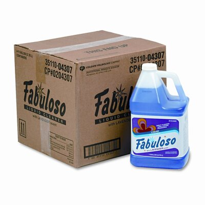 Colgate Palmolive Fabuloso All-Purpose Cleaner, Lavender Scent, 1 Gal Bottle, 4/Carton