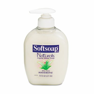 Colgate Palmolive Softsoap Moisturizing Hand Soap with Aloe, Liquid, 1 Gal Refill Bottle