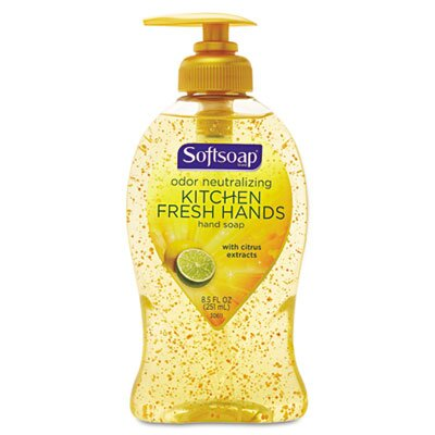 Colgate Palmolive Softsoap Hand Soap, Kitchen Fresh Hands, 8.5 Oz Pump Bottle, 1 Each