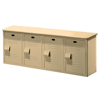 Lenox Plastic Lockers Locker Bench - 4 Ft