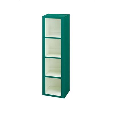 Lenox Plastic Lockers Plastic Cubby Locker - 4 Tier - 1 Section