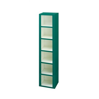 Lenox Plastic Lockers Plastic Cubby Locker - 6 Tier - 1 Section