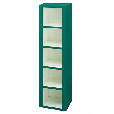 Lenox Plastic Lockers Plastic Cubby Locker - 5 Tier - 1 Section