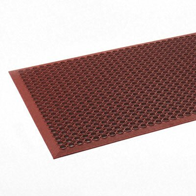 CROWN MATS & MATTING                               Safewalk-Light Heavy-Duty Anti-Fatigue Mat, Rubber, 36 X 60