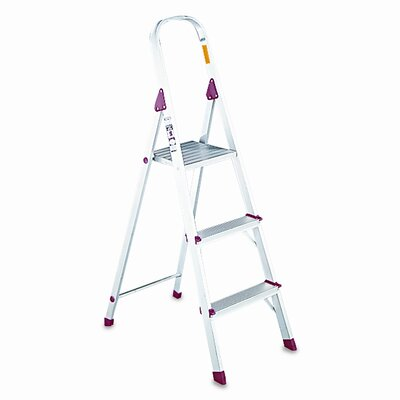 DAVIDSON LADDER, INC.                              Louisville #566 Folding Euro 3-Step Step Stool