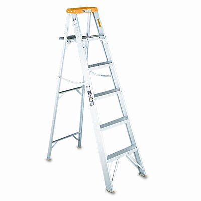 DAVIDSON LADDER, INC.                              Louisville #428 Eight-Foot Folding Aluminum Step Ladder