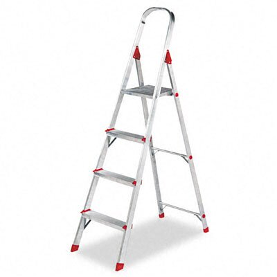 DAVIDSON LADDER, INC.                              Louisville #566 Four-Foot Folding Aluminum Euro Platform Ladder