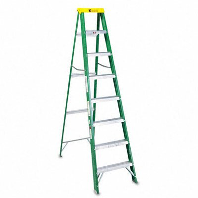 DAVIDSON LADDER, INC.                              Louisville #592 Eight-Foot Folding Fiberglass Step Ladder