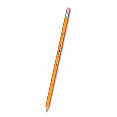 Dixon® Oriole Woodcase Pencil, HB #2, Yellow Barrel, 12/pack