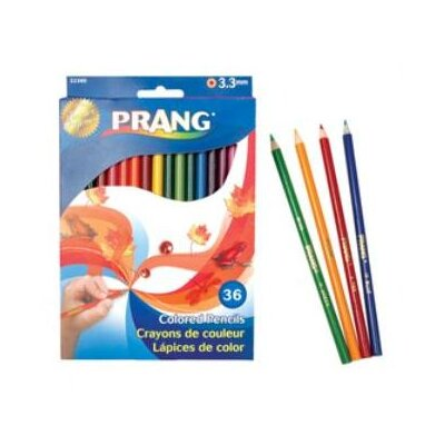 Dixon® Prang Colored Woodcase Pencils