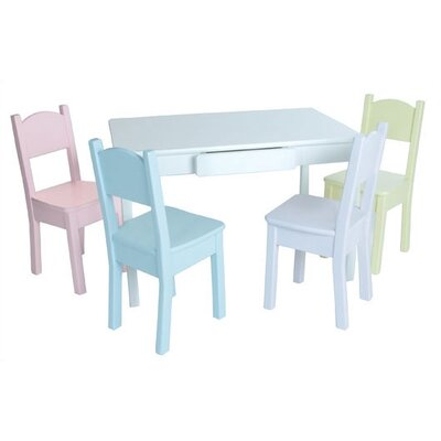 Little Colorado Arts and Crafts Activity Table and Chair Set