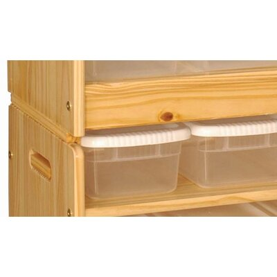 Little Colorado Toy Organizer 8 Compartment Cubby