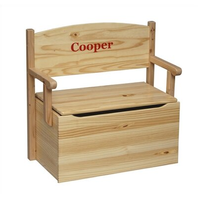 Little Colorado Bench Toy Box