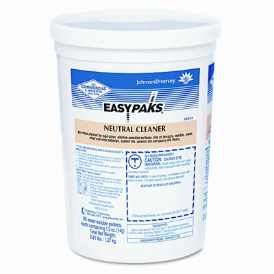 SC Johnson Floor Cleaner, 90 5oz Packets per Tub