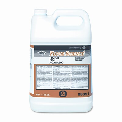 SC Johnson Professional Floor Finish, 1gal Bottle, 4/carton