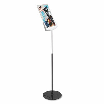 Durable Office Products Corp. Sherpa Infobase Sign Stand, Acrylic/Metal